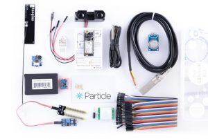 Particle Sensor Kit W/ Electron + Data